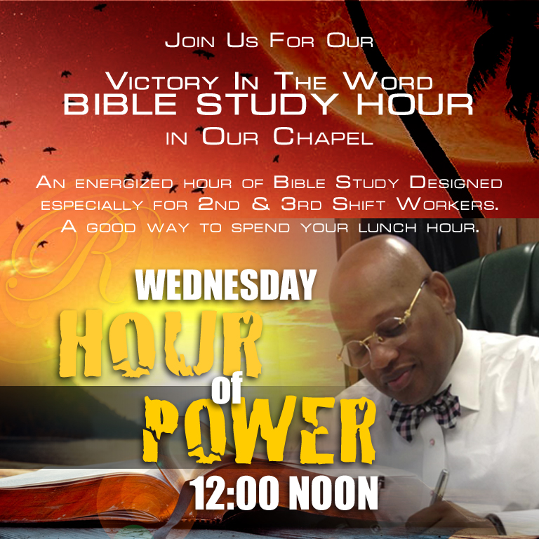 Wednesday Hour of Power