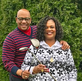 Bishop & First Lady Golf Picture